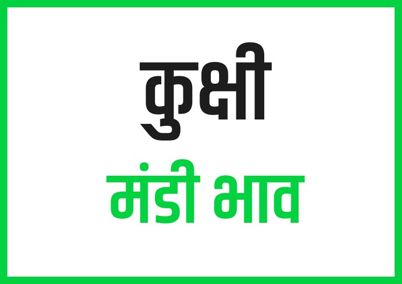 kukshi mandi bhav