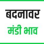 badnawar mandi bhav
