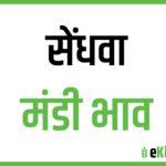 Sendhwa Mandi Bhav