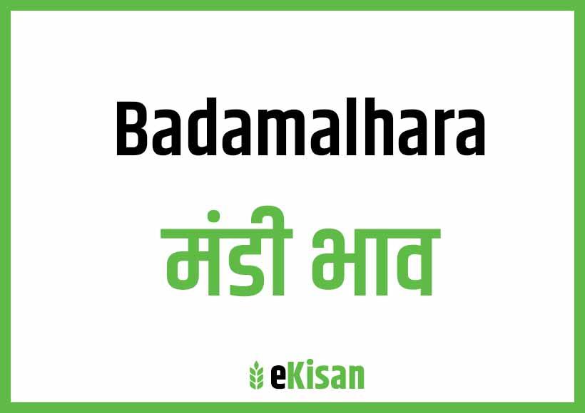 Bada Malhara Mandi Bhav