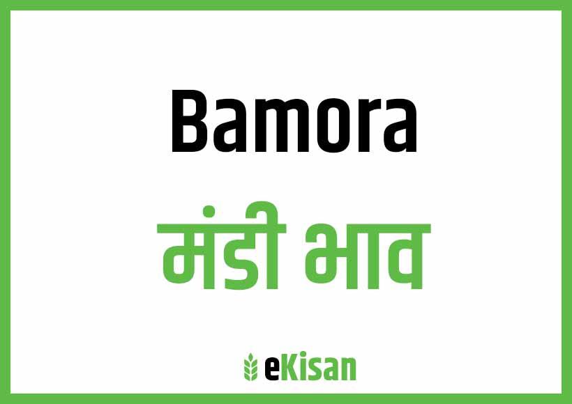 Bamora Mandi Bhav