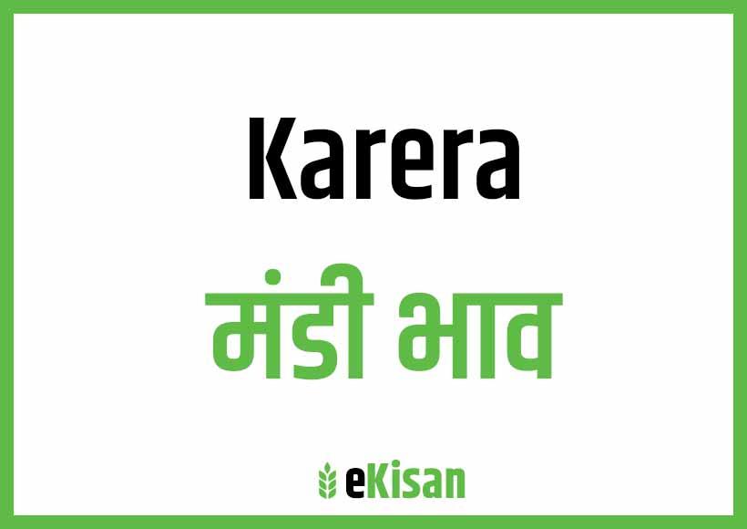 Karera Mandi Bhav