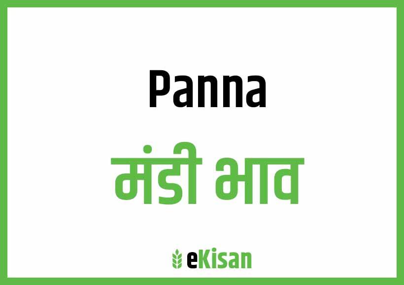 Panna Mandi Bhav